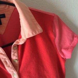 Tommy Hilfiger Coral Golf Polo Small Flaw